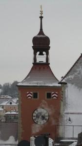 Turm - ... und der Turm mit der Uhr
