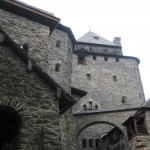 Blick vom Burghof Richtung Rittersaal