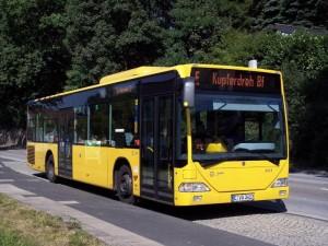 Ein Stadtbus